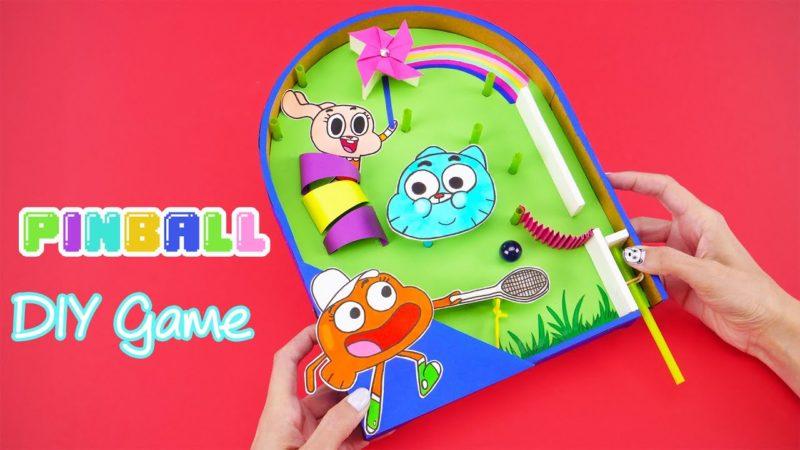 Come costruire un flipper con i personaggi di Gumball