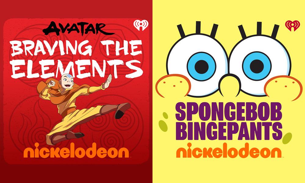 """I podcast """"Avatar"""" e """"SpongeBob"""" sono in onda con Nick e iHeartRadio"""