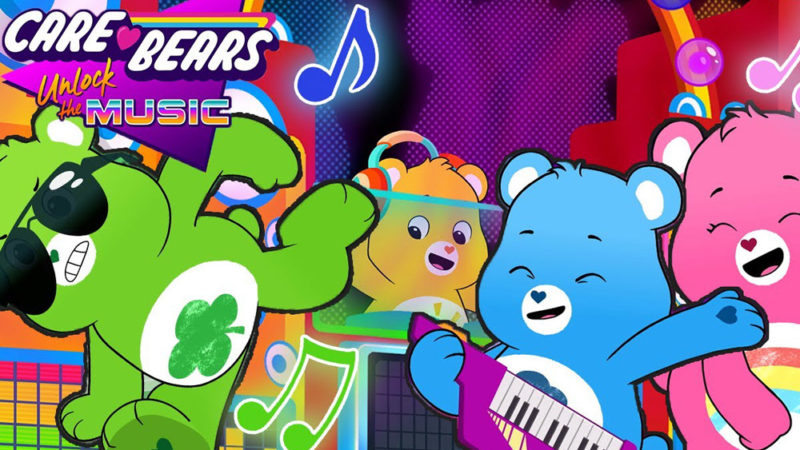"Cloudco e Moonbug Tune Up S2 di ""Care Bears: Unlock the Music"""