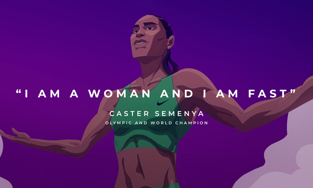 Caster Semenya Short anima biologia, bellezza e divieti straordinari