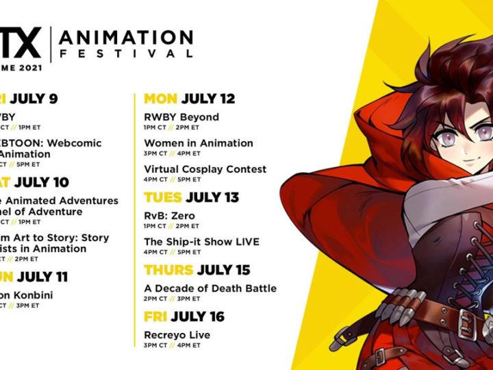RTX at Home Animation Festival porta creatori e talenti ai fan a luglio