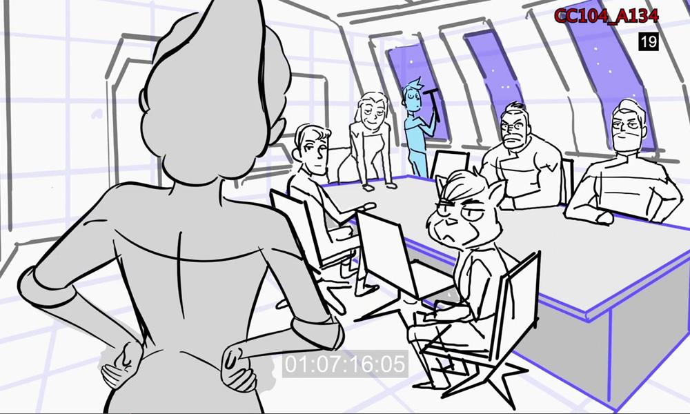 "Clip BTS: In che modo ""Star Trek: Lower Decks"" rende i Phaser sbalorditivi"