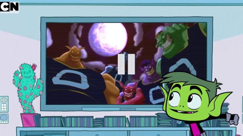 Robin & Co. tifano per i brani in 'Teen Titans Go! Guarda il film originale di Space Jam