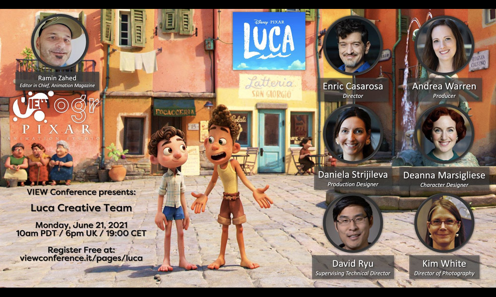 News Bytes: Panel VIEW 'Luca', TV Craft BAFTAs, Voice of Sebastian Dies e altro