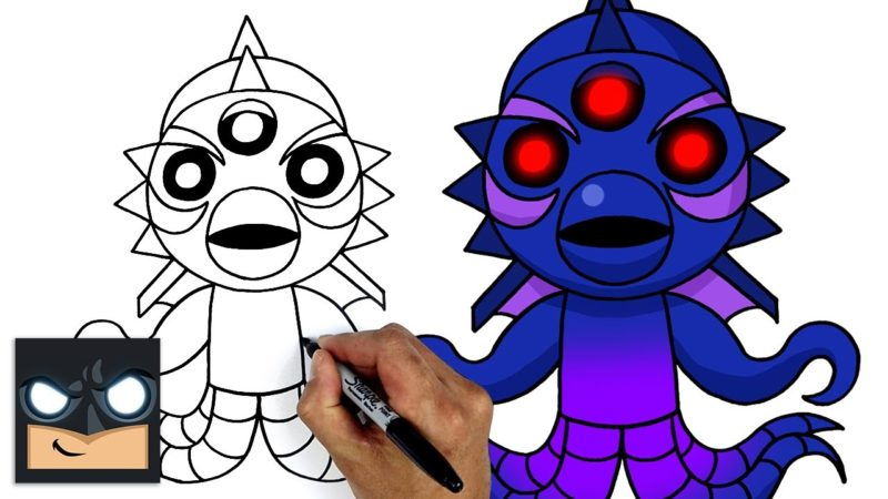 Come disegnare Roblox 🦑 Kraken