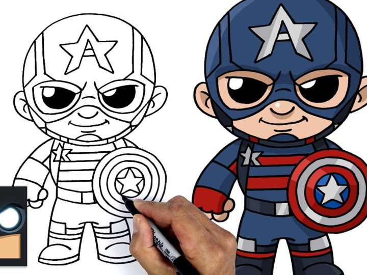 Come disegnare Capitan America | Falcon e Winter Soldier