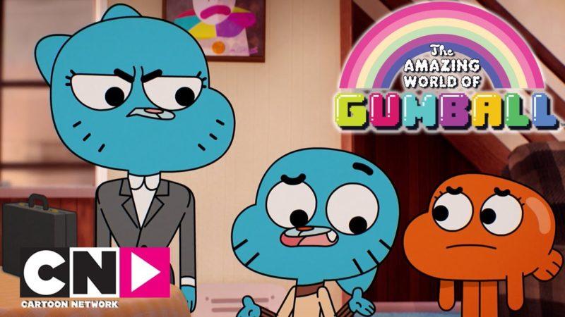 Una giornata a lavoro | Lo straordinario mondo di Gumball | Cartoon Network