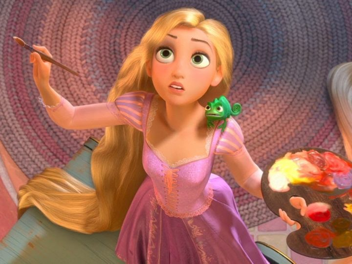 🎨  I colori per dipingere preferiti da Rapunzel | Disney Princess | Disney Junior IT