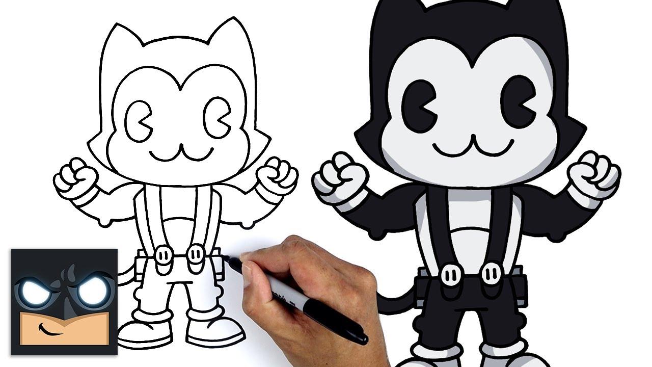 Come disegnare Fortnite | Toon Meowscles || NUOVA skin stagione 6
