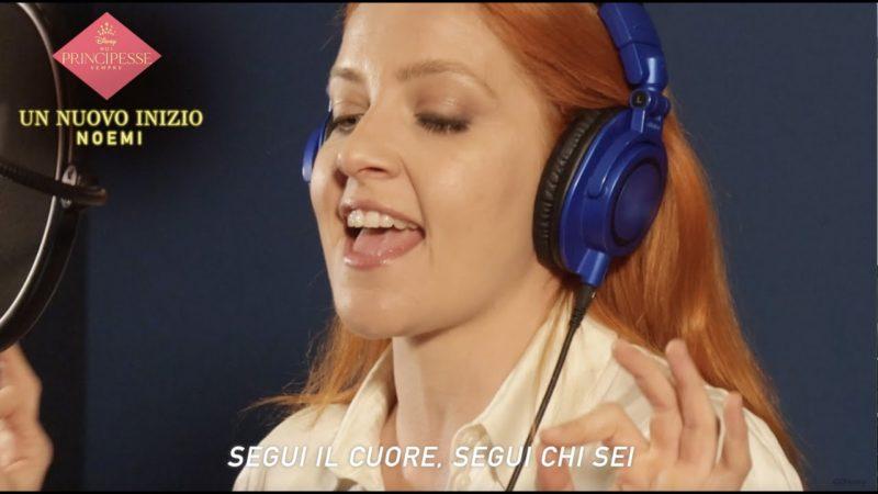 """Noemi canta """"Un Nuovo Inizio""""   Noi Principesse Sempre"""