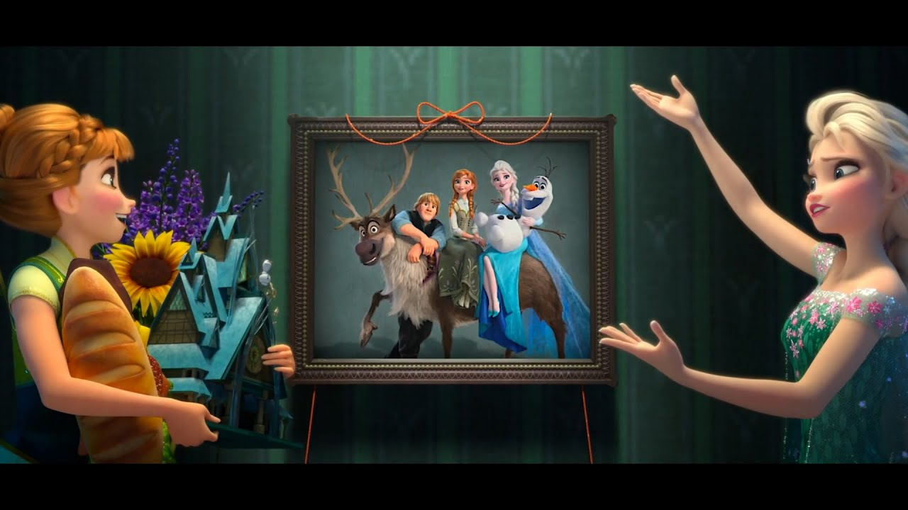 Frozen Fever | Clip dal Film | La canzone di compleanno di Elsa e Anna