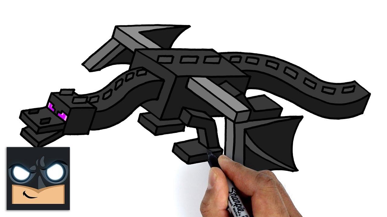 Come disegnare Minecraft   Ender Dragon
