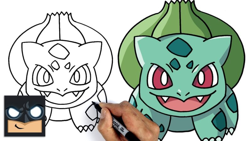 Come disegnare Pokemon | Bulbasaur