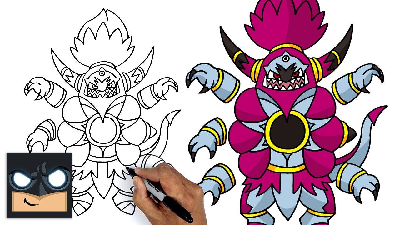 Come disegnare Pokemon | Hoopa Un-Bound