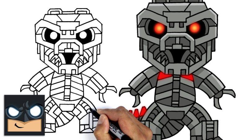 Come disegnare Mechagodzilla | Godzilla VS Kong