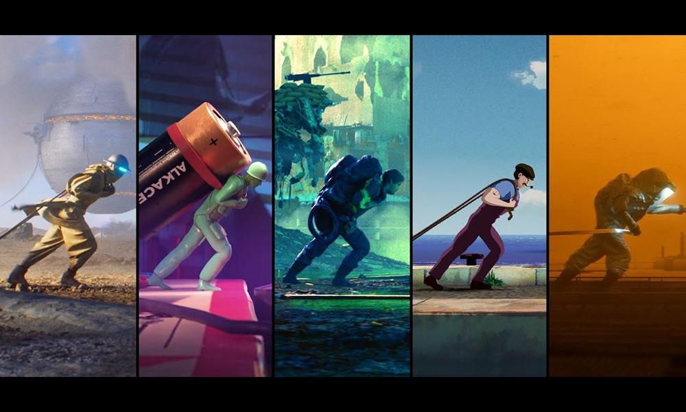 """Guarda: Pwnisher Challenge """"Realtà alternative"""" genera un montaggio di 100 rendering"""