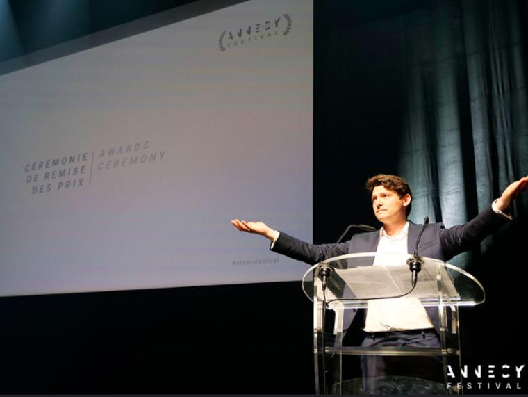 Il CEO di Annecy Mickaël Marin