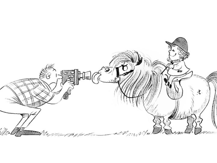 "Blenheim dà vita ai pony di Thelwell in ""Merrylegs the Movie"""