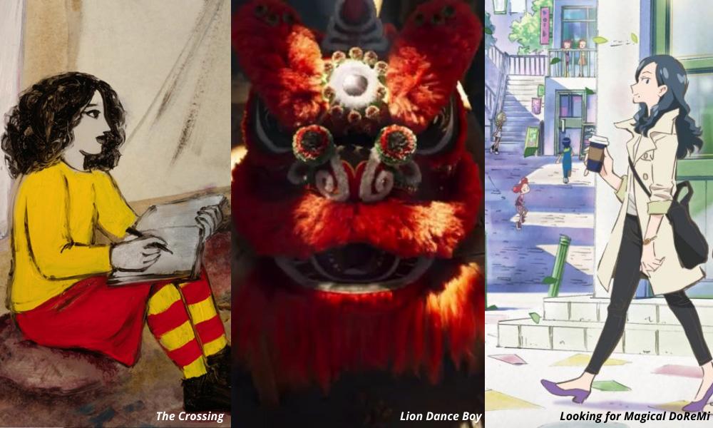 Tre nuovi film si uniscono al programma Annecy 2021