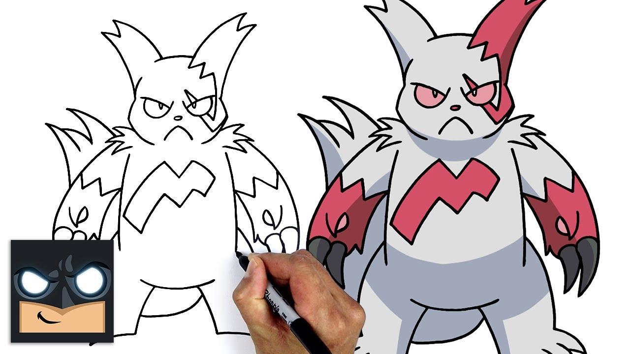 Come disegnare Pokemon | Zangoose