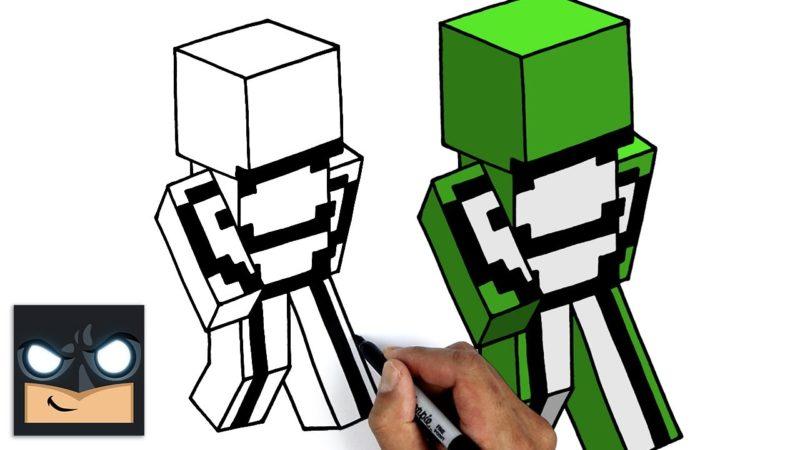 Come disegnare DreamWasTaken | Sogno SMP || Tutorial sulla pelle di Minecraft