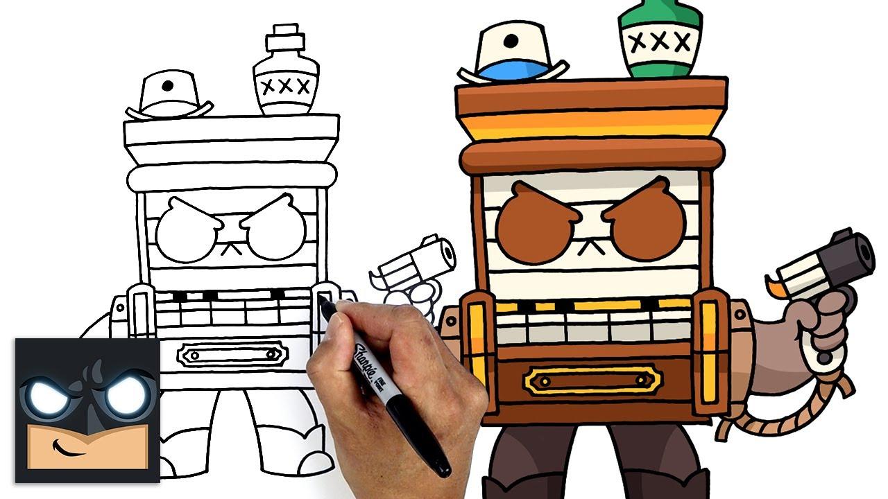 Come disegnare Brawl Stars   Saloon 8-Bit