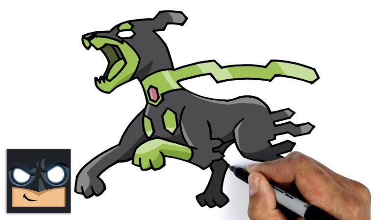 Come disegnare Pokemon | Modulo Zygarde 10%