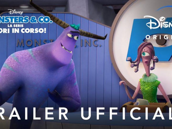 Disney+ ! Monsters & Co. La Serie – Lavori in Corso! – In Streaming dal 7 Luglio