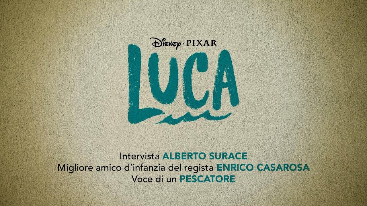 Disney+ | Luca – Intervista Alberto Surace In Streaming Ora