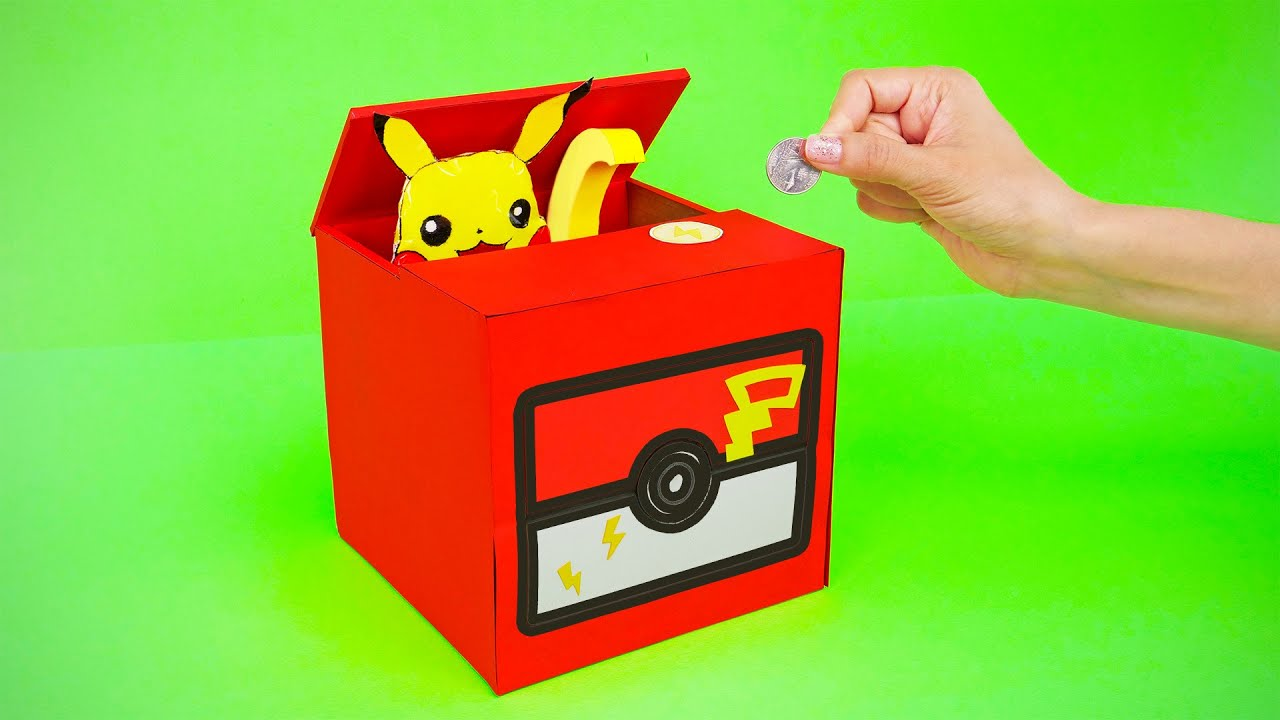 Costruisci giochi fai-da-te con i Pokemon
