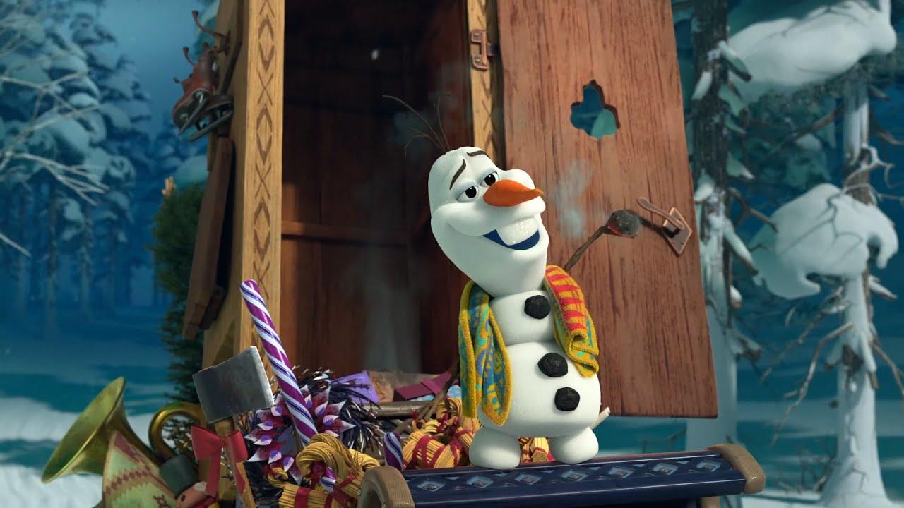 Frozen – Le avventure di Olaf   Clip dal Film   Olaf e la Slitta delle Tradizioni