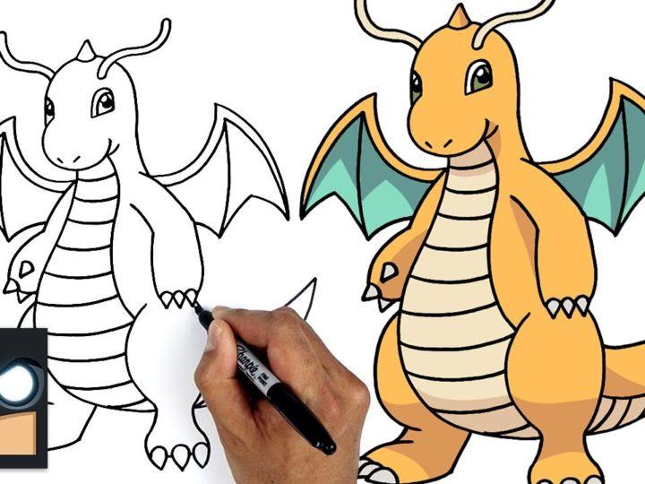 Come disegnare Pokemon | Dragonite