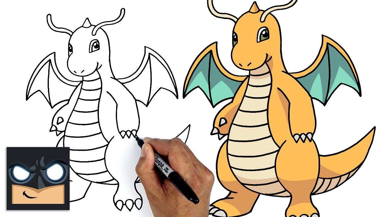 Come disegnare Pokemon   Dragonite