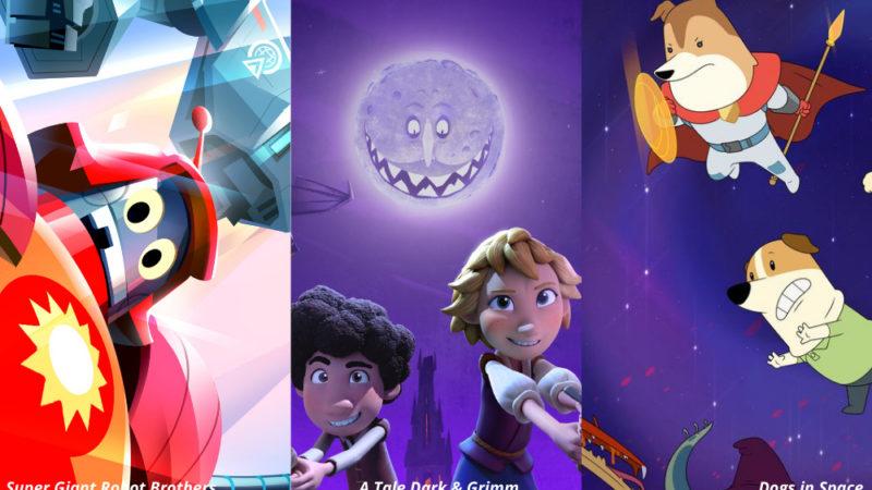 Netflix annuncia un trio di commedie animate per bambini dei migliori talenti e creatori esordienti