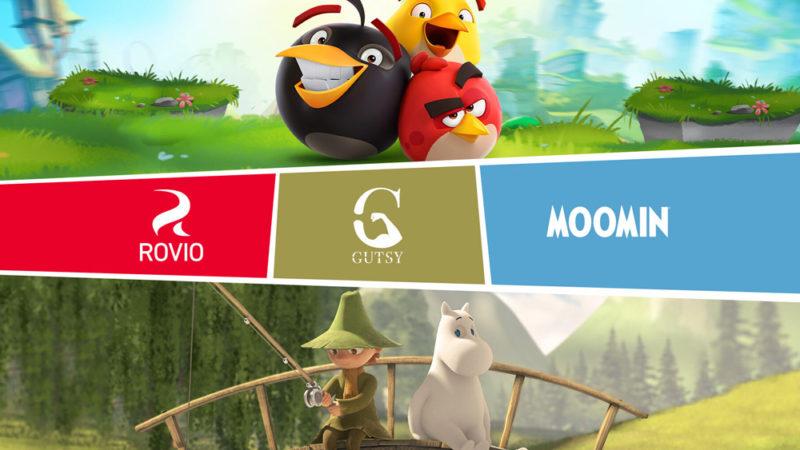"""Il vivaio di """"Angry Birds"""" Rovio investe in """"Moominvalley"""" Prodco Gutsy"""