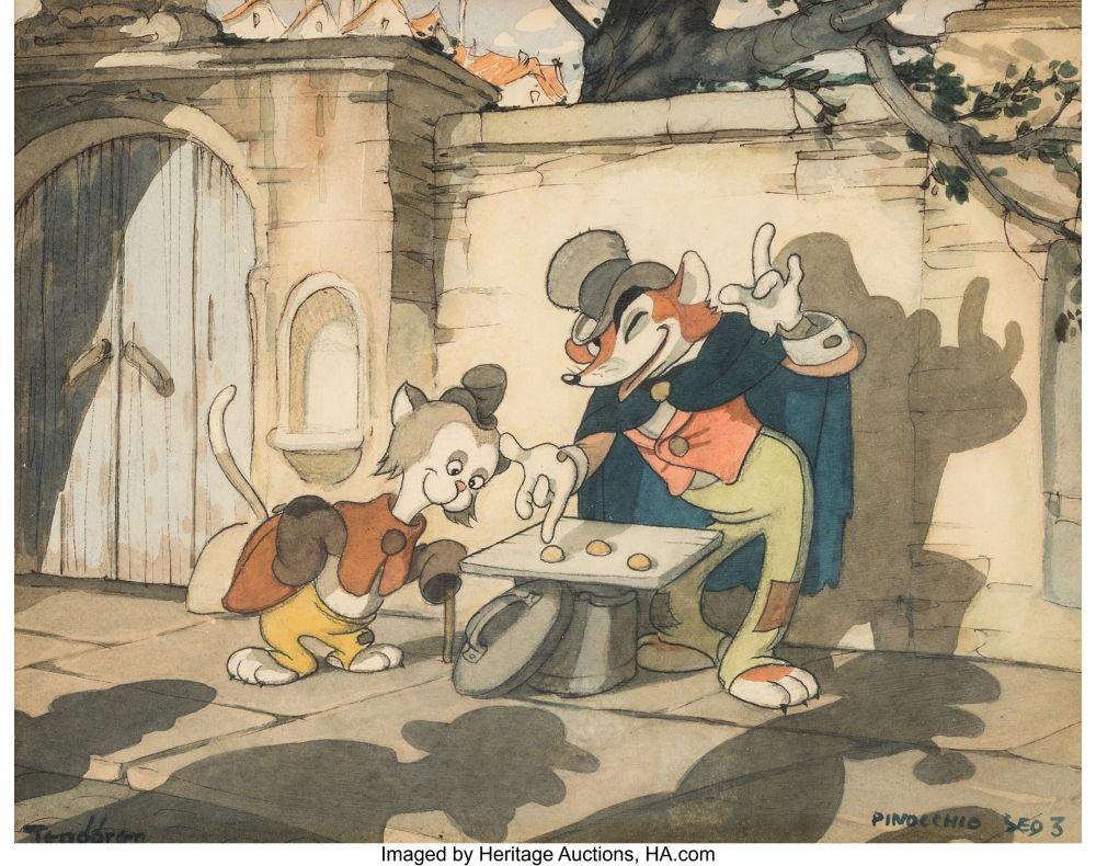 Pinocchio Concept Painting