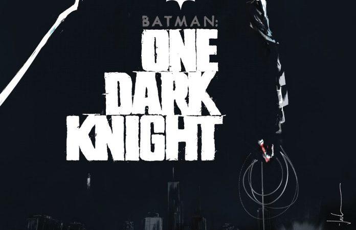 La DC annuncia BATMAN: ONE DARK KNIGHT di Jock