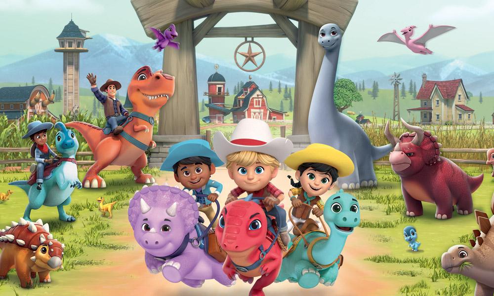 """""""Dino Ranch"""" la serie animata prescolare si avvia alla seconda stagione"""