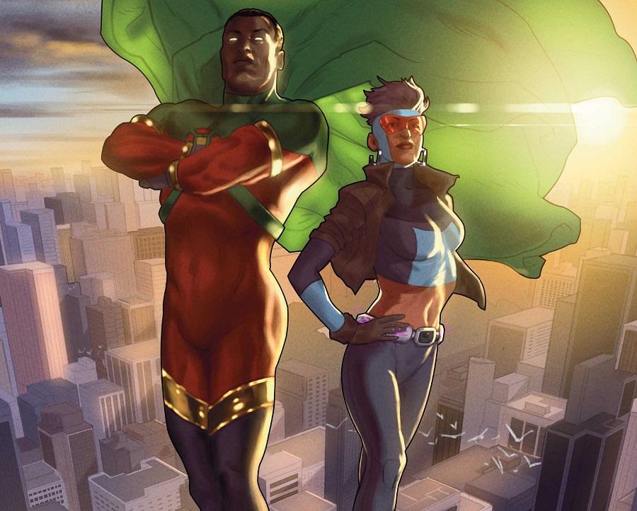 Fumetti DC Comics: il ritorno di Icon e Rocket