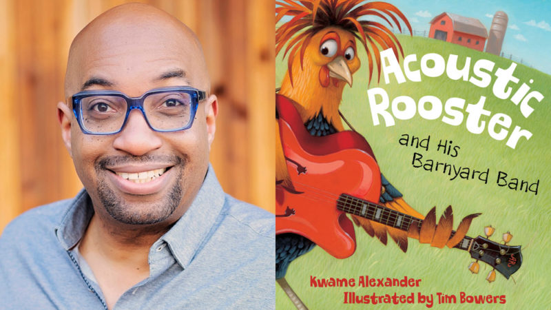 "GBH Kids adatta ""Acoustic Rooster"" di Kwame Alexander, vincitore di Newbery"