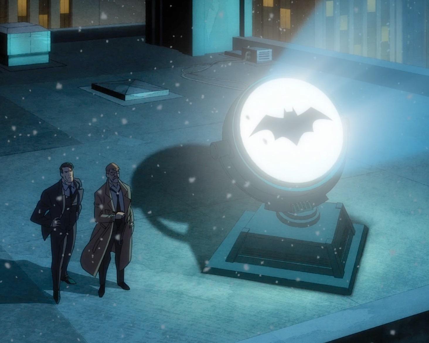 In Batman: Il lungo Halloween il cavaliere è ancora più oscuro