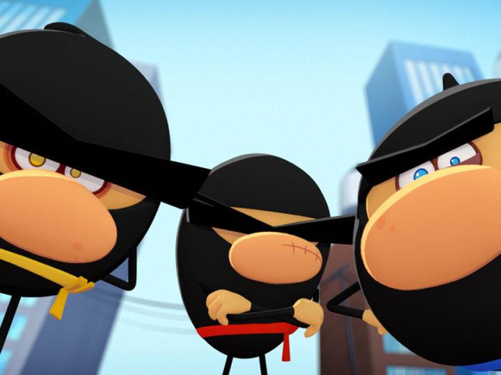 "eOne celebra il lancio globale di ""Ninja Express"""