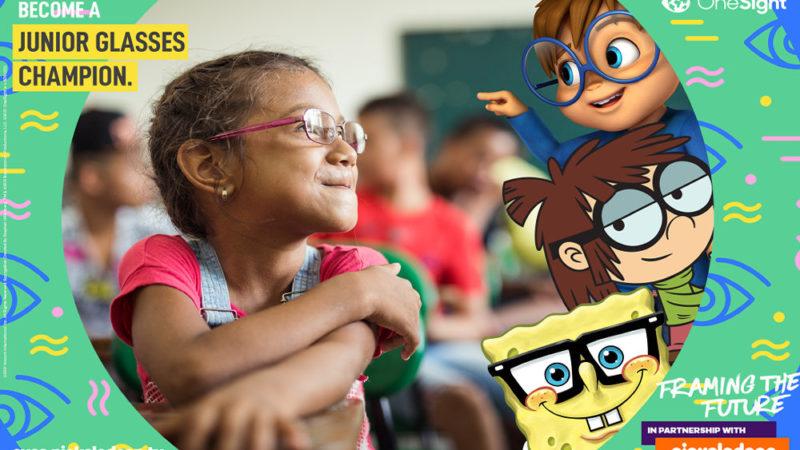 Nickelodeon, OneSight lanciano la campagna per la salute degli occhi dei bambini