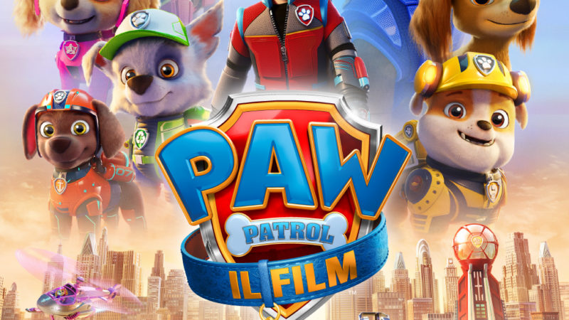 Paw Patrol – Il film prime immagini per l'Italia Domenica 25 Luglio al Giffoni Film Festival.