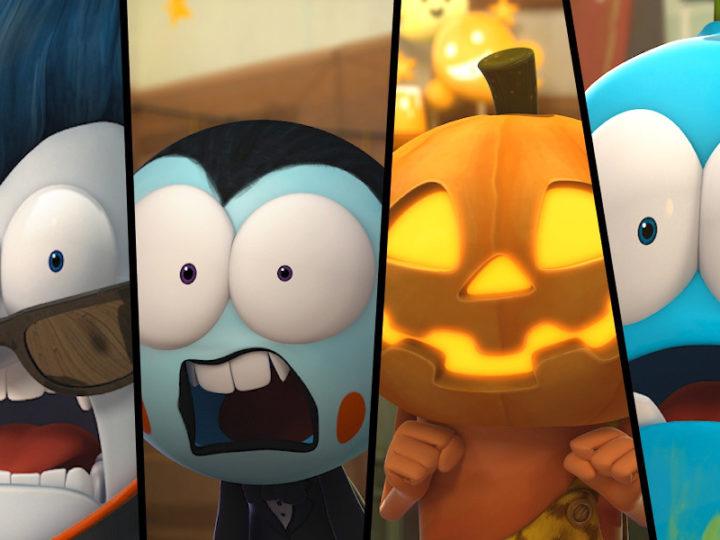 Spookiz la serie animata 3d per bambini di mostri