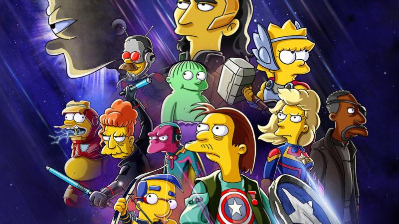 """I Simpson si riuniscono nel cortometraggio Disney+ a tema Marvel """"Il buono, il Bart e il Loki"""""""