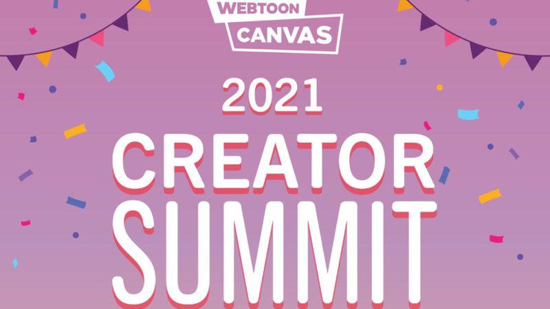Webtoon CANVAS e Clip Studio Paint si uniscono per il Summit dei creativi online