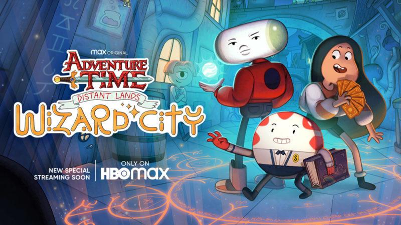 "WarnerMedia Kids a Comic-Con@Home:  ""Wizard City"", ""Jellystone!"""