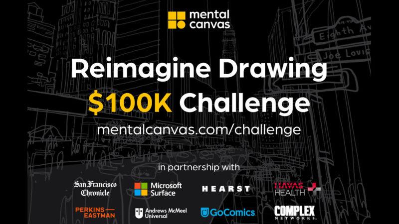 """Mental Canvas lancia la sfida globale da $ 100.000 per """"reimmaginare il disegno"""""""