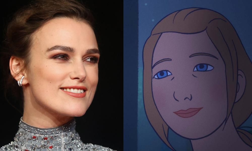 """Keira Knightley si unisce a """"Charlotte"""" come doppiatrice e produttrice esecutiva"""